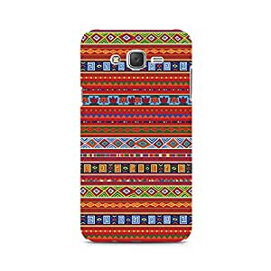 Motivatebox-Ethnic Pattern Abstract Samsung Galaxy J2 2016 edition cover -Matte Polycarbonate 3D Hard case Mobile Cell Phone Protective BACK CASE COVER. Hard Shockproof Scratch-Proof Accessories