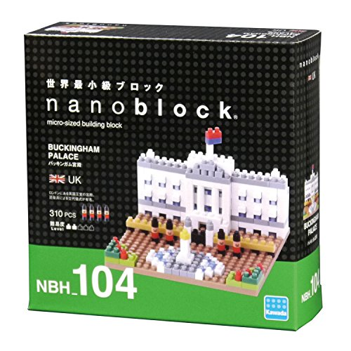 Kawada NBH104 Nanoblock Buckingham Palace Building Kit