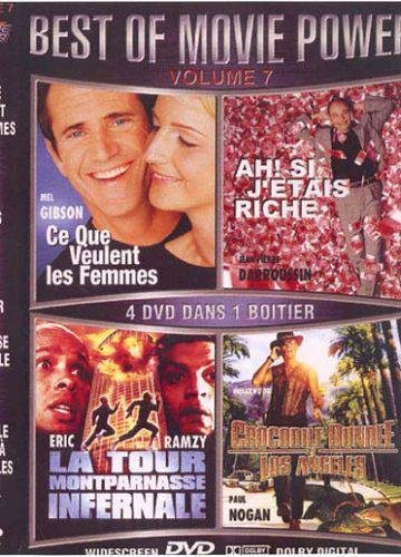 Ce que veulent les femmes / Ah ! Si j'étais riche / La Tour Montparnasse infernale / Crocodile Dundee 3 - Coffret 4 DVD (Crocodile Dundee 3 compare prices)