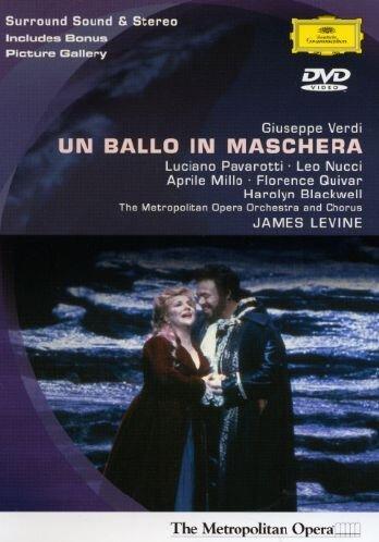 Un Ballo In Maschera: Metropolitan Opera (Levine) [DVD] [2002]