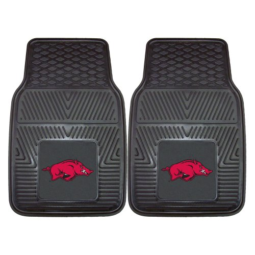 FANMATS NCAA University of Arkansas Razorbacks Vinyl Heavy Duty Car Mat (Razorback Truck Accessories compare prices)