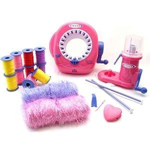 Amazon.com: Deluxe Singer Spool Knitter & Knitting Machine ...