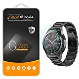 Supershieldz [3-Pack] for Samsung Gear S3 Frontier/Classic Tempered Glass Screen Protector, Anti-Scratch, Anti-Fingerprint, Bubble Free, Lifetime Replacement