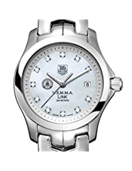 US Merchant Marine Academy TAG Heuer Watch - Women's Link with Mother of Pearl