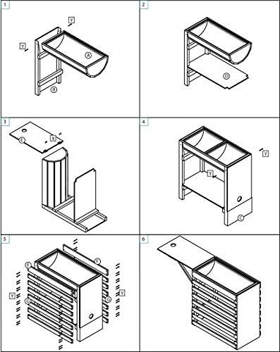 dobar-Rollbares-Hochbeet-aus-Holz-Kiefer-braun-mit-Boden-Frhbeet-Bausatz-fr-Gemse-Kruter-im-Garten-und-Balkon