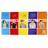 One Direction Full Band Large Beach Towel
