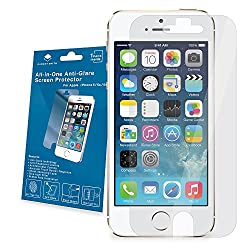 Gadget Smith Incredible Impact Resistance Screen Protector for iPhone 5/5c/5s - Retail Packaging