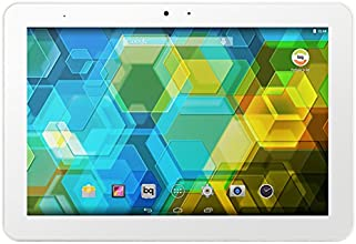 "BQ Edison 3 - Tablet de 10.1"" (Bluetooh 4.0 + WiFi, 32 GB, 2 GB RAM, Android 4.4), blanco"