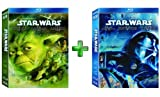 Star Wars Prequel & Trilogy Saga 1 2 3 4 5 6 Complete Movie Set Bundle [Blu-Ray]