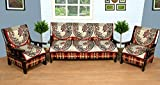 WOW Polycotton 5 Seater Sofa Cover - sc004, Multi Color