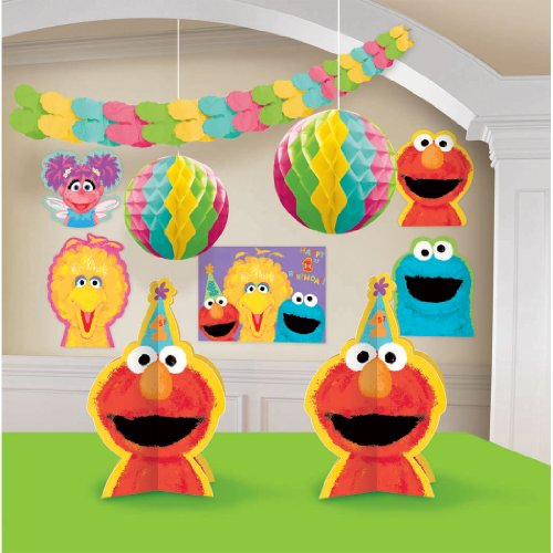 Sesame Street 1st Birthday - Decorating Kit
