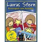 Lauras Stern Kartenspiele zum Ausmale...