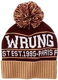 Wrung paris finest bonnet homme beige taille unique