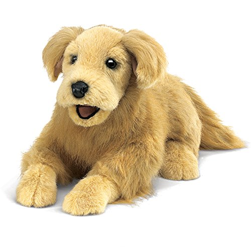 Folkmanis Golden Retriever Hand Puppet