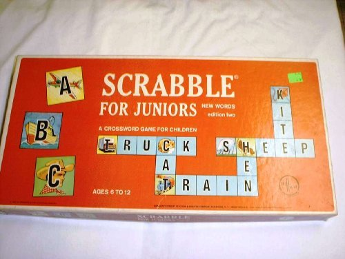 Scrabble for Juniors Edition Two-A Crossword Game for Children (1964) - 1