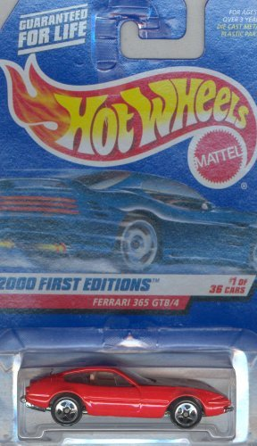 Hot Wheels 2000-061 First Edition FERRARI 365 GTB/4 1:64 Scale - 1
