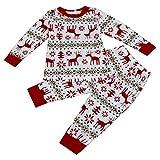 Bluestercool Vêtements de Noël Pyjamas famille Homme