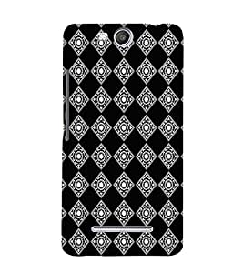 EPICCASE bedazzled diamond Mobile Back Case Cover For Micromax Canvas Juice 3 Q392 (Designer Case)