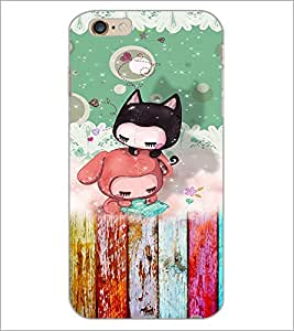 PrintDhaba Cartoon D-3157 Back Case Cover for APPLE IPHONE 6 (Multi-Coloured)
