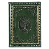 Tree of Life,green Leather Journal