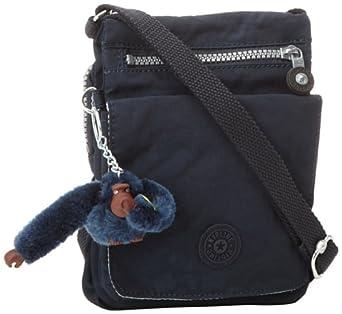 (快抢)吉普林 Kipling 猴子包 Eldorado系列时尚斜挎包 深蓝 $33.30