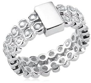 s.Oliver Damen-Ring 925 Sterlingsilber Gr. 54 220033