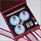 England ProV Golf & Cufflinks Gift Set (red)by Titleist