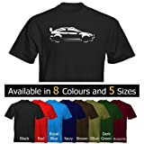 Velocitee Mens T-Shirt Ford Focus Mk2 WRC Stylised Image