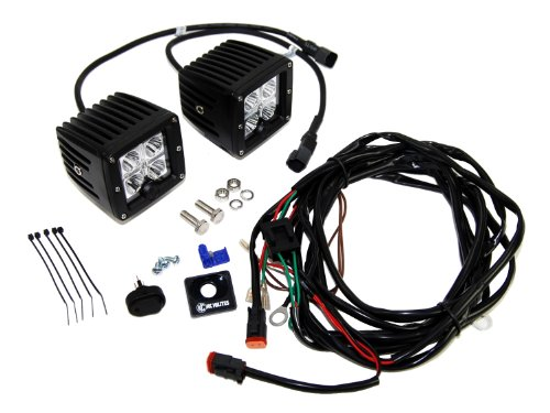 "Kc Hilites (332) C3F 3"" 16W Led Flood Beam System"