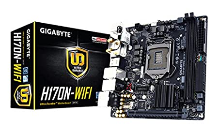 Gigabyte GA H170N-WIFI Carte mère Intel Mini ITX Socket LGA1151 package