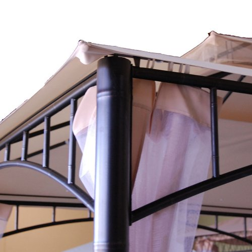 Canopy For Backyard Target : Replacement Canopy for Target Madaga Gazebo, Beige Home Lawn Outdoor