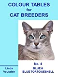 img - for Colour Tables For Cat Breeders - 4 Blue & Blue Tortoiseshell book / textbook / text book