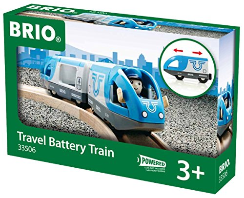 Brio - 33506 - Jouet Premier Age - Train de Voyageurs à Piles