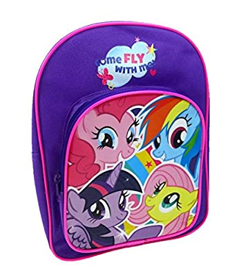 My Little Pony Children's Backpack, 8 Liters, Purple MLP001030 from My Little Pony