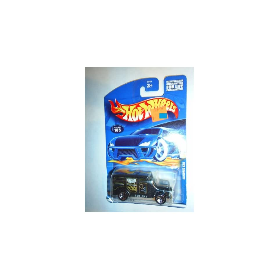 #2001 185 Armored Car Large/Small Collectible Collector Car Mattel Hot Wheels 164 Scale