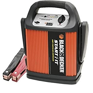 Black & Decker START IT VEC012CBD 450 Amp Jump Starter/Inflator