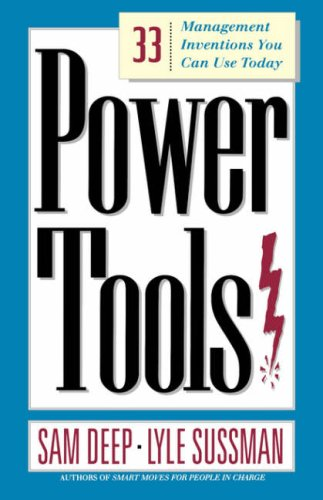 Image for Power Tools: 33 Management Inventions You Can Use Today