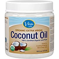 Viva Labs Organic Extra Virgin Coconut Oil,64 Ounce by Viva Labs