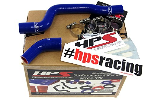 01-05 Yamaha YFM660 Raptor HPS Blue Reinforced Silicone Radiator Hose Kit Coolant (Yamaha Chappy Parts compare prices)