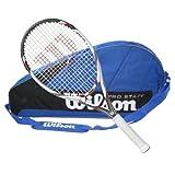 Wilson BLX Five 2014 STRUNG Tennis Racquet with 3 Racquet Bag by Wilson