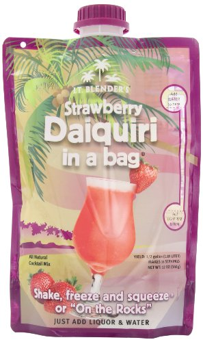 Lt Blender S Strawberry Daiquiri In A Bag 12 Ounce