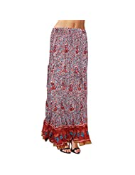 Sttoffa Womens Cotton Skirts -Multi-Coloured -Free Size - B00MYVFXYQ