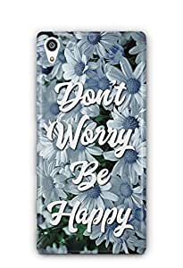 YuBingo Don't Worry. Be Happy Designer Mobile Case Back Cover for Sony Xperia Z5 Plus