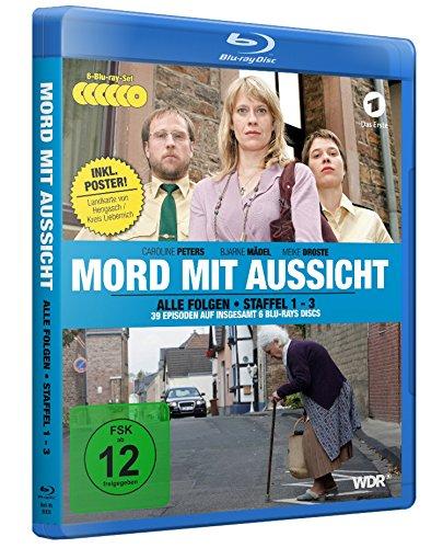Mord mit Aussicht - Staffel 1-3 (6 BDs) inkl. Landkarte von Hengasch/Kreis Liebernich als A2-Poster [Blu-ray]