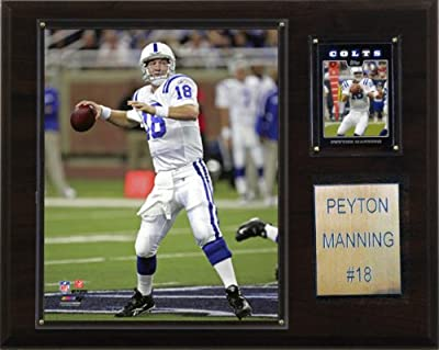 NFL Peyton Manning Indianapolis Colts Player Plaque