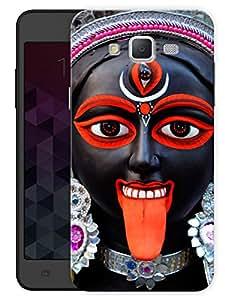 "Humor Gang Kali Maa - Durga Maa Printed Designer Mobile Back Cover For ""Samsung Galaxy J5"" (3D, Matte, Premium Quality Snap On Case)"