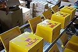 牛乳箱:牛さんロゴ(牛乳瓶4本用) アンティーク雑貨の決定版!なつかしいレトロな感じが素敵!ミルクボックス [MS510]
