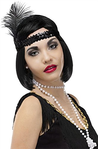 Pearl Beads Flapper Necklace - 1