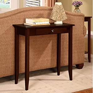 Dorel Home Products Rosewood Console Table