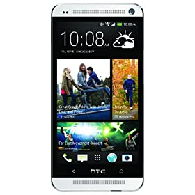 HTC One M7, Silver 32GB (Verizon Wireless)